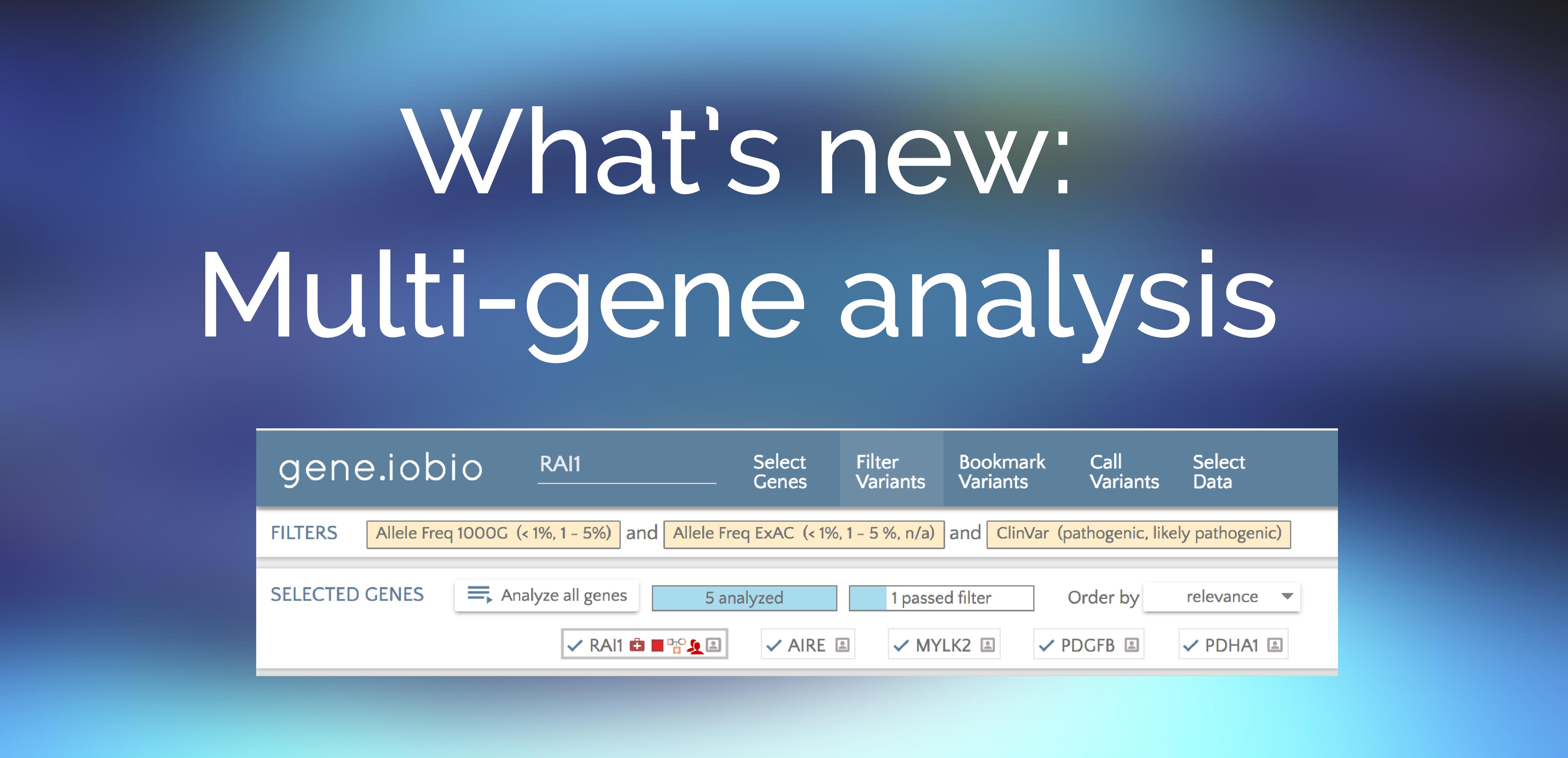 Gene iobio 2 2 0 · iobio