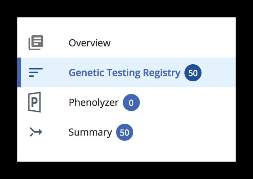 How To Use Genetic Testing Registry · iobio